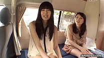 Japanese chicks, Shiori and girlfriend uncensored