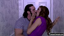 Sexy TS gets her ass fucked by bfs cock