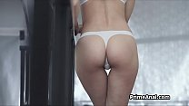 Lingerie beauties ass fingered n licked out