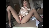 fuckena.com — the gray-haired girl fuck on the table