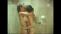 Two hot Girlfriends taking a Shower video