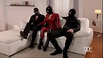 Latex Lucy Mystery Masks - Latex Loving Threesome For Fetish Lovers