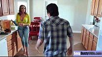 Big Tits Slut Housewife (Ariella Ferrera) Like Hard Style Intercorse movie-06 thumbnail
