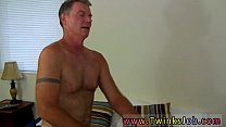 Pissing while anal fucked gay first time Daddy Brett obliges of