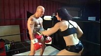 UIWP ENTERTAINMENT BELLY PUNCHING MAN vs 202 lb WOMEN
