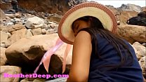 HD Heather D eep publicly fucked and goes cumdiving deepthroat and gets a creamthroat outdoors new