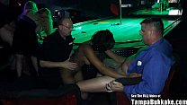 Dirty D Wild Christmas Gangbang In Strip Club preview image