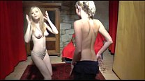 First casting threesome for two teens