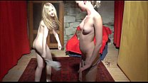 First casting threesome for two teens thumbnail