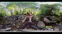 Yanks Ana Molly And Belle Lesbian Fun Outdoors