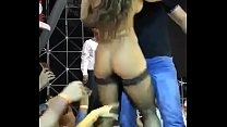 Dancing  Nude on Public Stage and Allowing Audience to touch Boobs and Pussy