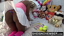 12391 Hardcore Hot Nasty Little Ebony Bitch Msnovember In Skirt Getting Pussy Fuck Sheisnovember HD preview