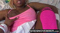 15671 Hardcore Hot Nasty Little Ebony Bitch Msnovember In Skirt Getting Pussy Fuck Sheisnovember HD preview