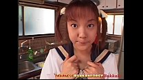 Little Japanese Schoolgirl Cum Covered - Japane...