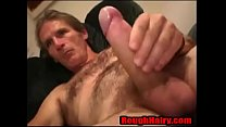 White trash Daddy bear Stroking- RoughHairy.com