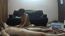 South Indian Lily  gets an erotic full body oil massage