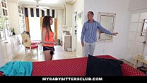 MyBabySittersClub - Petite Baby Sitter Fucked On New Years - 9Club.Top