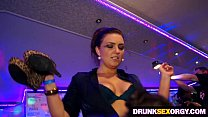 Hot boozed ladies fucking at the party thumbnail
