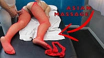 Hot Asian Milf Came for a Massage with Sexy Tights to Seduce & Pussy Tease the Masseur!