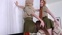 Moms Don't Mind Lesbian Daughters Until They Get To Play Too- Chloe Foster & Winter Jade