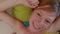 Teen ginger porno newbie thumbnail