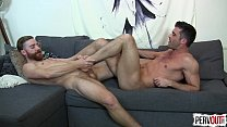 Sebastian Keys and Lance Hart Foot Fest GAY FOOT FETISH