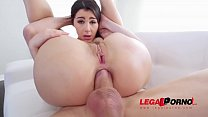 Italian Pornstar Valentina Nappi DP'ed so HARD she cums like Crazy