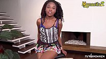 MAMACITAZ - Sexy Ebony Latina Pantera Record On Tape Her Revenge Sex Session