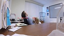 Step son office anal fuck with step mom