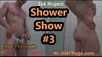 Sexy See Through Underwear Shower Strip Muscular Aussie Zakrogerz Zakrogerz
