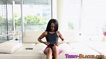 Black bitch creampied preview image