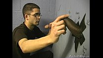 black gay gloryhole