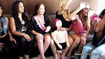 Bachelorette party and two big dicks