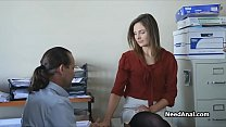 Image: Secretary's ass licked and fucked by boss