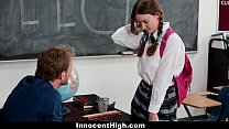InnocentHigh - Shy Schoolgirl Fucks Her Speech ...