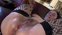 Dirty anal loving granny