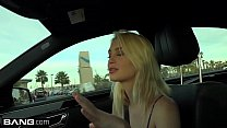 Barely legal teen Anastasia Knight gets creampied in a car image