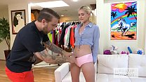 Teen blonde spinner Jesse Saint gets fucked sen...