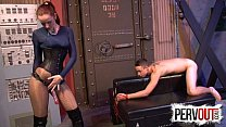 Vivienne L'amour Broke His Ass CFNM PEGGING ANAL