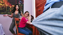 Son Wants Help From Mommy Becky Bandini and Sister Violet Storm
