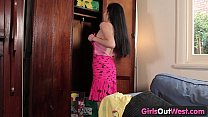 Girls Out West - Hairy Asian lady with a toy preview image