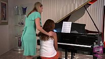 Samantha Ryan and Allie Haze at the Piano's Thumb