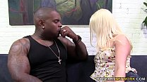 Kristen Jordan picks up a black guy and getting anal fucked