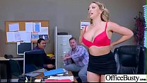 (Kagney Linn Karter) Hot Office Girl With Big T...