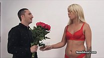 Analversary with blonde gf in lingerie Preview