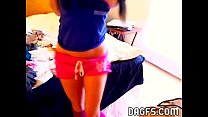 18 years old amateur teases on webcam