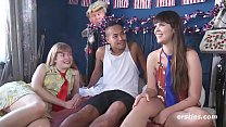 Sizzling Amateur Threesome thumbnail