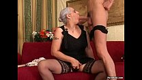 Granny First Huge Cock Anal preview image