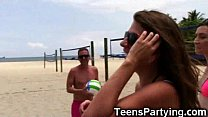 Volleyball Girls Share Cum in Public! - 9Club.Top
