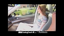 CASTINGCOUCH-X Car Foreplay With Hot Babes Comp...